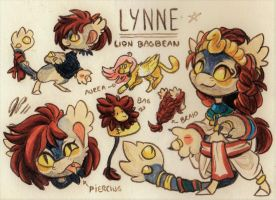 Lynne Ref. Sheet [Commission] by Baraayas