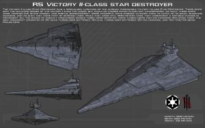 RS Victory II-class star destroyer ortho [New] by unusualsuspex