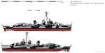 USS Heermann DD-532 (October 1944) - Ms32/24D by ColosseumSB