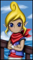 Tetra from the Wind Waker!  :) by Etinel