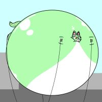 Minty the Blimp! by Logan9702