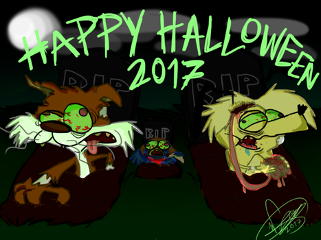 Happy Halloween 2017 by DangerEye98