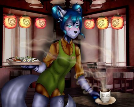 I Just Love The Smell of Coffee by LeaLenTilla