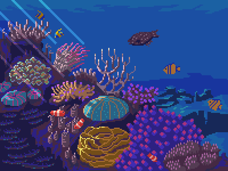 Coral reef by 5ldo0on