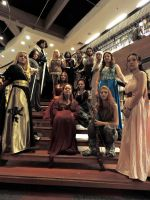 A huge Game of Thrones cosplay group. by exilir-of-life