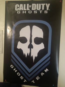 Ghosts poster by aidenisawesomelol