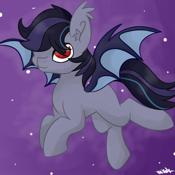 New Bat Pony Drawing by mississippikite