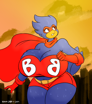 Busty Bird by joaoppereiraus