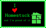 I love Homestuck stamp by PrincessCillerenda