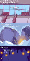 Makito Goes Outside- Background concepts by NightMargin