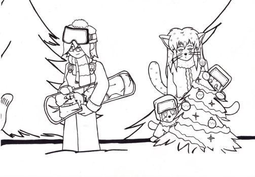 2016 Panel 2- lineart by Catboy-Trades