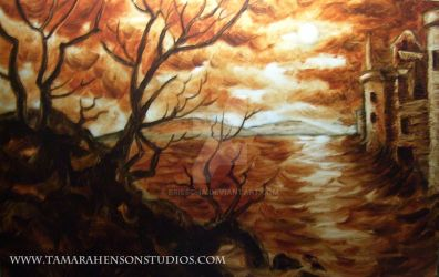 Aaron's Nocturnal: Underpainting by briescha
