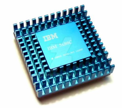 nice IBM CPU by attilasebo
