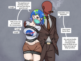 Earth-chan handled with love and care by TBSP-Art