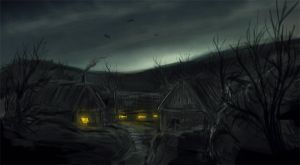 the village by merl1ncz