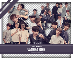 SHARE RENDER WANNA ONE FOR 1ST LOOK MAGAZINE by yooncua