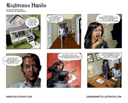 Righteous Hands Webcomic #4 by jemurr