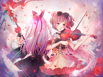 ContestEntry - Schyte and Violin by Ghostabears