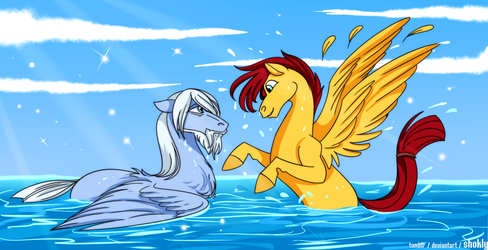 Water Fun by Shokly