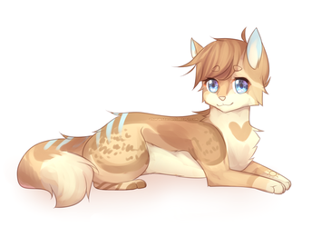 Fluffy (Commission) by Zharleste