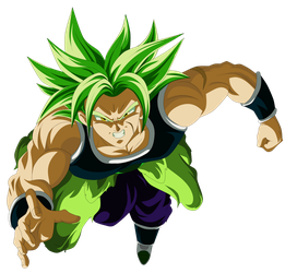 Broly 2018 The Movie DBS 2018 RENDER by AlejandroDBS