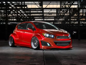 Chevy Aveo RS by ObsidianReaper