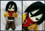 Mikasa Ackerman by renealexa-plushie