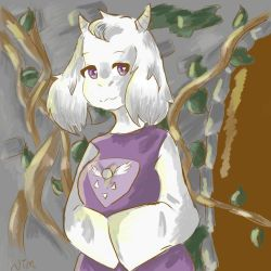 Toriel Undertale by Nimch3