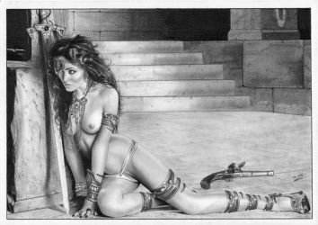 Dejah Thoris Warlord of Mars by TimGrayson