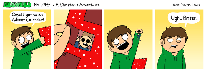 EWCOMIC No. 245 - A Christmas Advent-ure by eddsworld