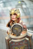 Valkyrie Leona Cosplay: The sun always rises by MomoeHamaguchi