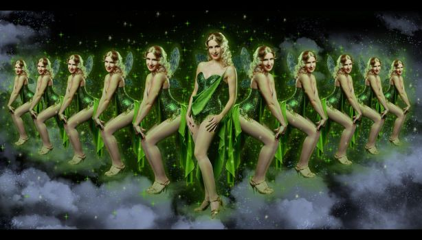 Green Fairy - Moulin Rouge by NatIvy