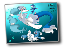 Postcard from Alola by Chiarana