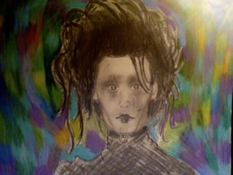 Edward Scissorhands by Purplesunset3