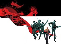 Cover to The 5th Beatle GN by Andrew-Robinson