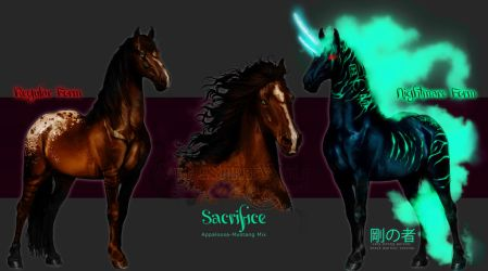 - Sacrifice -  Limited Time Adopt (SOLD) by WhiteSpiritWolf
