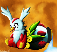 Delibird's new tail
