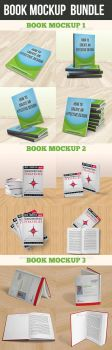 Book Mockup Bundle by graphickey