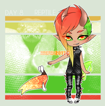 [ HALLOWEEN 2017 ] Day 8 | Reptile by BoozeDoll