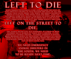 LEFT TO DIE by wiht