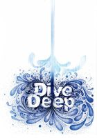 dive deep poster project by CHIN2OFF