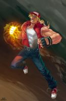 king of fighter XIII Terry by OscarCelestini
