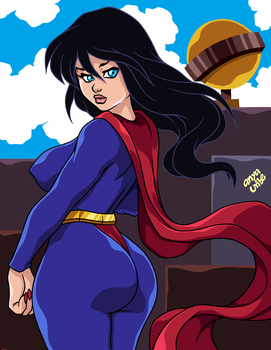 GENDER BENDER: SUPERWOMAN by AnyaUribe