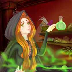 [Prize] Witch Felina by lihyan96