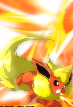 Flareon used Heat Wave by super-tuler
