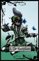 Tarot the Heirophant by TheBlindProphetess