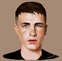 Colton Haynes by Boywithmeese