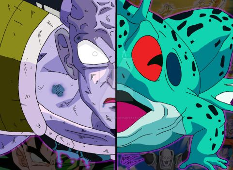 Dragonball Duality - Captain Ginyu Frog by OptimumBuster