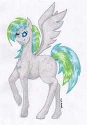 Commission: Lime Zest by 0PinkPepper0