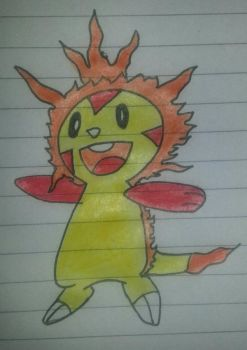 alolan chespin by BSChoda20